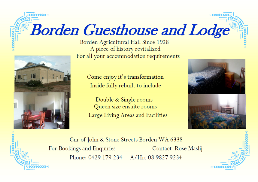 Borden Guesthouse and Lodge